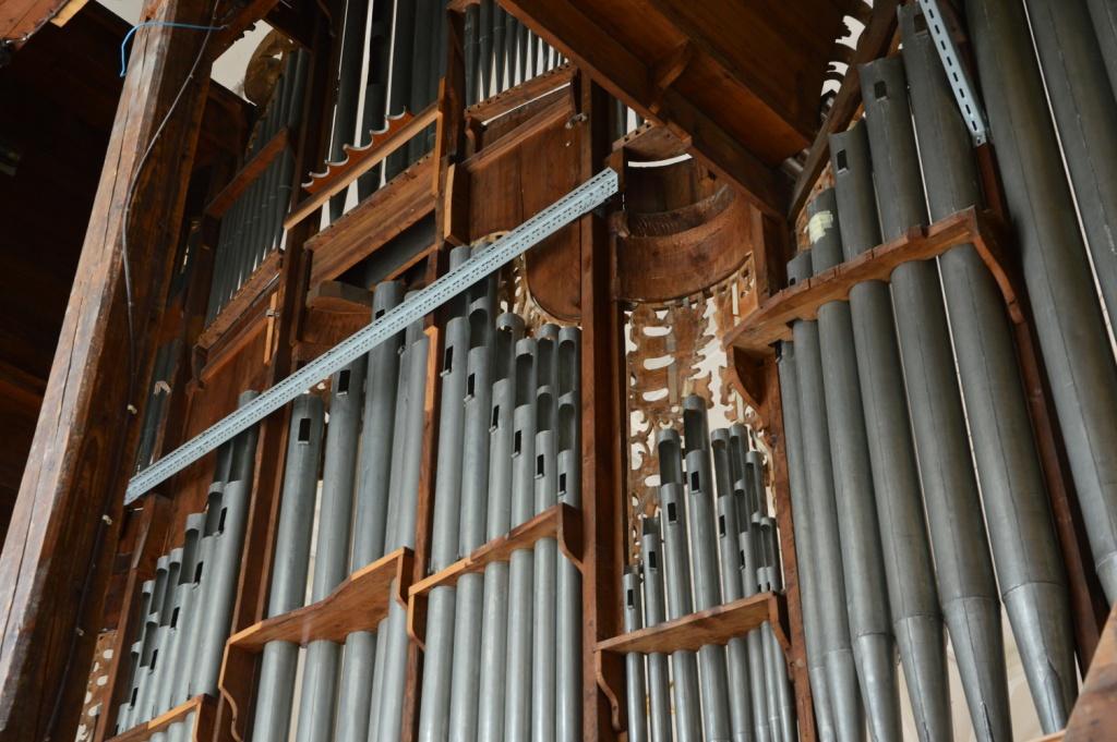 Orgelgehäuse innen