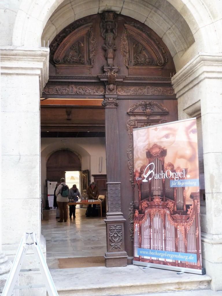 Nordportal der Dreieinigkeitskirche